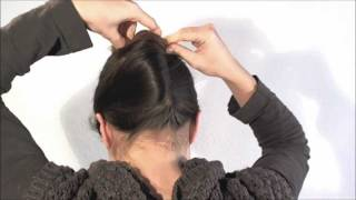 Download [Hairstyle] 1 minute french twist with a stick 3Gp Mp4