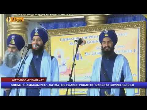 Asi Nai Jinda Shadna - Bhai Mehal Singh ji Chandigarh wale 2017 at U.K.
