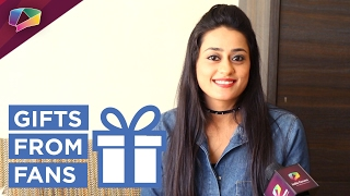 Kirtida Mistry receives gifts from fans