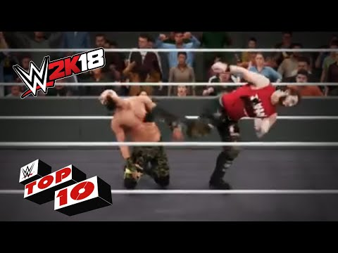 A Festival of Shattering Superkicks!: WWE 2K18 Top 10