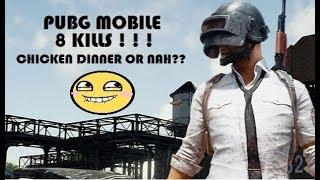 PUBG Mobile Screen Recording Using MOBIZEN | 8 Kills ! ! !
