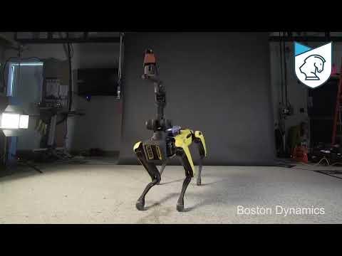 Танцующий робот Spot Mini от Boston Dynamics