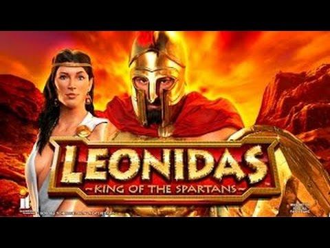 Leonidas Slot Machine Bonus-Max Bet