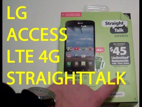 STRAIGHTTALK LG Access LTE L31L 4G Review