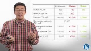 5.1 Предельные издержки и маржинальный анализ