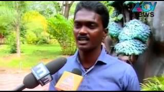 Anaconda in Thiruvananthapuram Zoo voes crowd