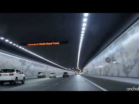 Sheikh Zayed tunnel - Abu Dhabi
