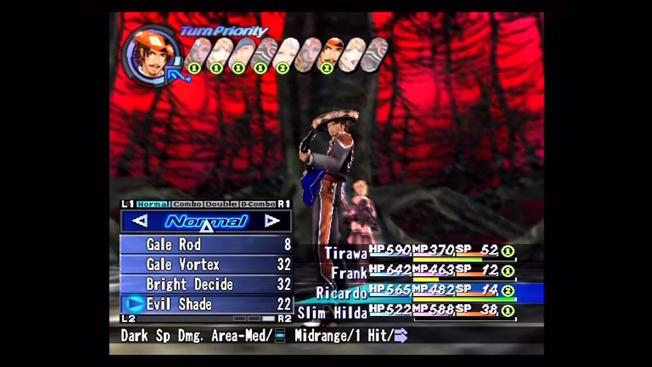 Shadow Hearts Gameplay 「shadow Hearts From The New