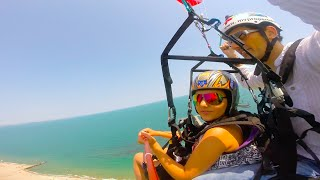 Tandem Paragliding in Burgas , Mari and Vess