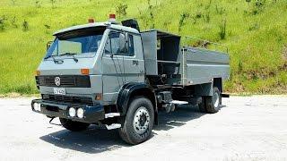 Apresentação do caminhão VW 16170 Bombeiro 1993 - à venda
