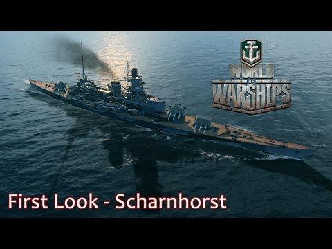 Scharnhorst First Look - World of Warships