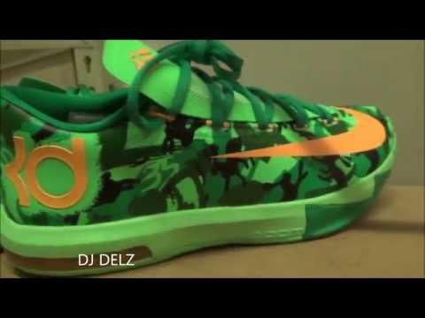 Nike KD 6 Easter Camo Bunny Rabbit Sneaker Review + On Feet With @DJDelz Dj Delz