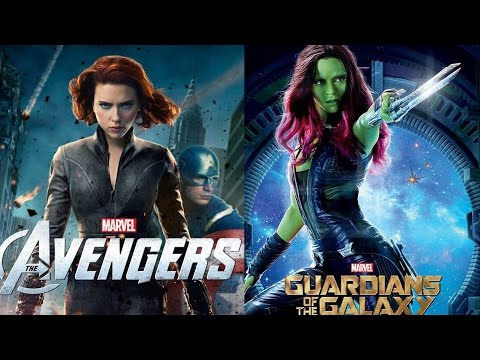 AMC Movie Talk - Black Widow Vs Gamora: Who Wins in A Fight?