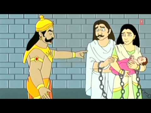 Short Animated Story Shri Krishna Baal Leela Hindi With Krishna Kanhaiya Song video