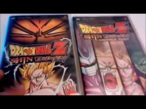 Dragon Ball Z Shin Budokai Another Road Unboxing/Review (Now Complete!)