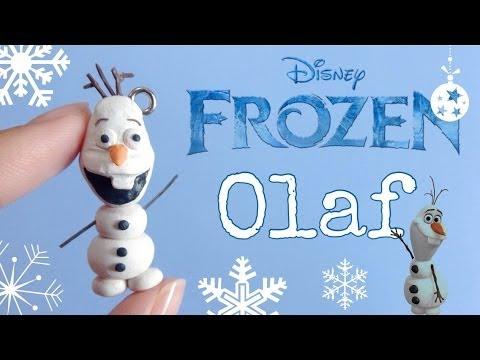Tutorial : Polymer Clay Frozen Olaf