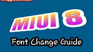 Cara Mengganti font di  MIUI 8 dengan benar (Changing fonts in MIUI 8)
