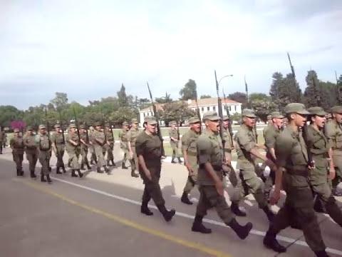 Ceremonia y Desfile ESPAC 81 Grl LEMOS en la ESESC Parte 4