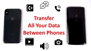 Oneclick Transfer Data(Contacts,Photos)from Android to iPhone,Android to Android(Included giveaway)
