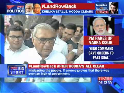 Narendra Modi targets Congress for Robert Vadra land deals