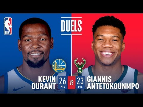 KD vs Giannis: Duel In Milwaukee