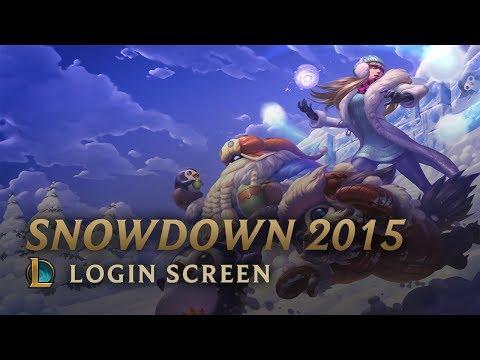 Snowdown 2015 | Login Screen - League of Legends