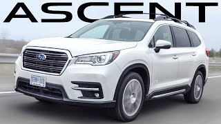 2019 Subaru Ascent Review - $39,000usd 3 Row SUV