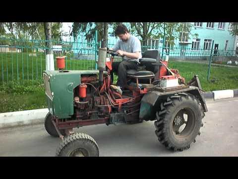 Самодельный трактор Турбодрайв)))))