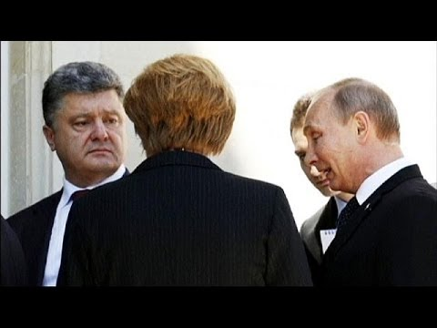 Putin meets Obama and Poroshenko on sidelines of D-Day commemorations