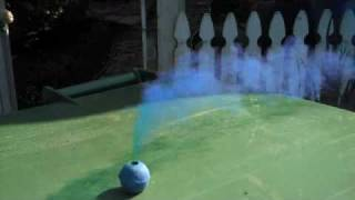Blue Clay Smoke ball
