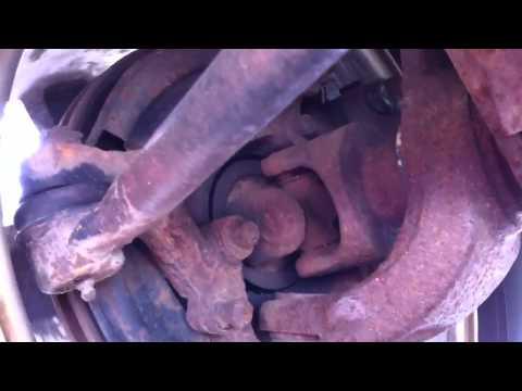 Jeep XJ front wheel bearing / u-joint