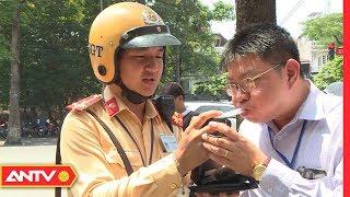 Cảnh sát giao thông lập chốt kiểm tra nồng độ cồn | An toàn sống | ANTV