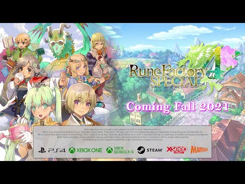Rune Factory 4 Special - PS4, Xbox One, and PC Trailer