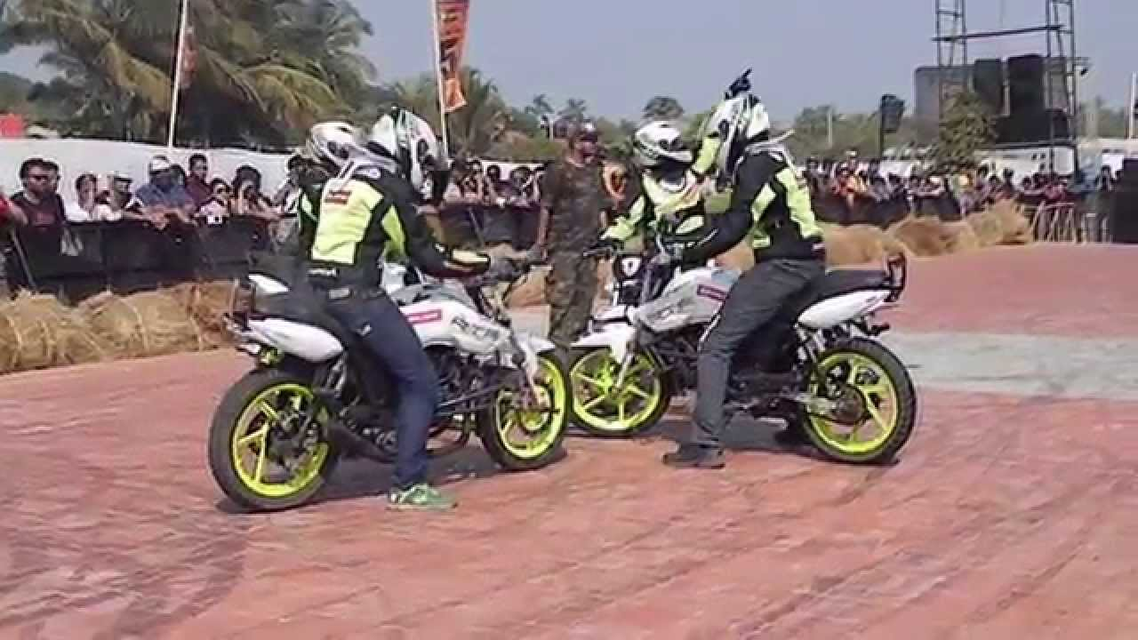 Bikes 2015 India Stunts India Bike Week IBW