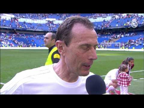 Amancio y Butragueño nos hablan tras el Corazón Classic Match 2016
