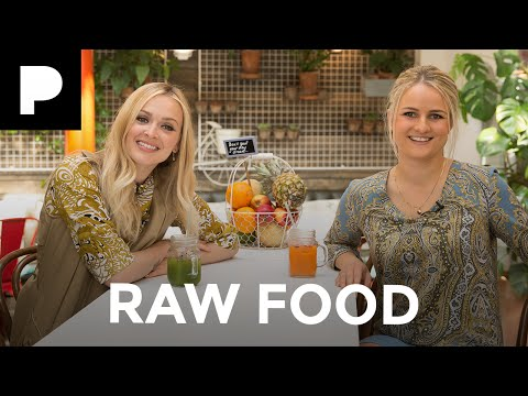 Fearne Cotton's Happiness Project: Raw Food Part 1