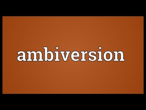 Header of ambiversion