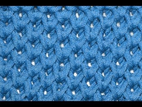 Knitting Stitches Honeycomb : How to knit Honeycomb Brioche Stitch * Knitting Stitches - YouTube