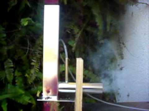 COLD SMOKER SMOKE GENERATOR. VENTURA 500ES. LOW OUTPUT.AVI