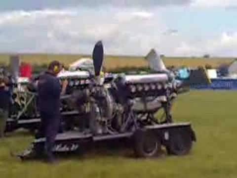 Spitfire Engined Bentley Spitfire Engine 1200hp