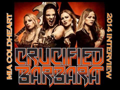 Interview with Mia Coldheart of Crucified Barbara, July 24, 2014 mp3