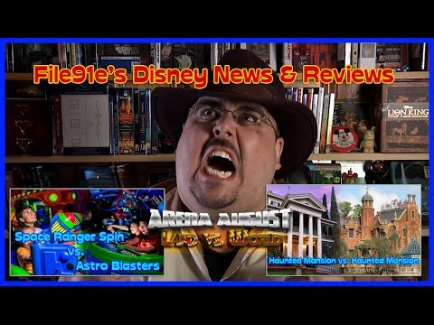 File91e's Disney News & Reviews (Space Ranger Spin vs. Astro Blasters & Haunted Mansion DL vs. WDW)