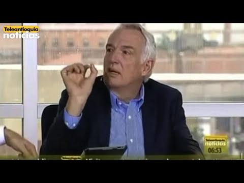 Federico Restrepo, Gerente de Autopistas de la Prosperidad, habló en Teleantioquia Noticias