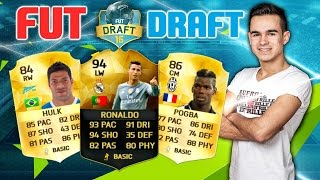 FIFA 16 : FUT DRAFT #2 FT. RONALDO IF & TRAUMTOR !! [TEIL 1/2]