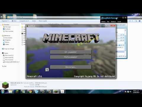Como crear un server de minecraft 1.5.2 y como poner mapas en ese servidor