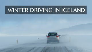 Winter Driving in Iceland and Tips