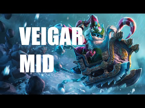 League of Legends Veigar Mid Full Game Commentary