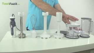 Kenwood Triblade HB 724 Stabmixer Test