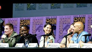 """Predator"" Movie Full SDCC Panel 7-19-18 - Olivia Munn, Sterling,  K. Brown, Keegan-Michael Key"