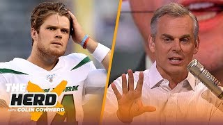 Colin Cowherd reacts to the news that Sam Darnold has been sidelined | NFL | THE HERD